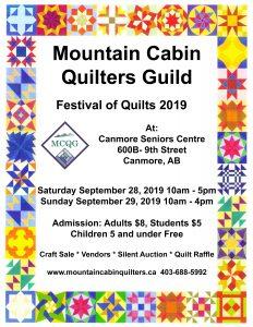MCQG Fall Show @ Canmore Seniors Centre